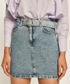 Answear - Fusta jeans BBYK-SDD04M_55J