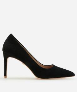 Reserved - Pantofi escarpen din piele - Negru