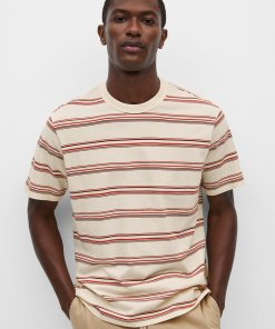 Tricou relaxed fit din bumbac cu model in dungi Olafur 3561493