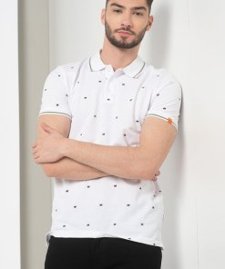Tricou polo regular fit din pique Logon 3586112