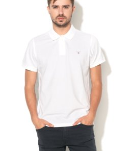 Tricou polo regular fit cu logo brodat 2201 2772596