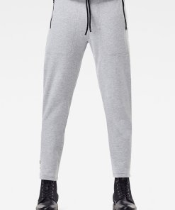 Pantaloni sport cu snur de ajustare si benzi laterale cu logo 3480593