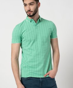Tricou polo regular fit cu imprimeu 3525675