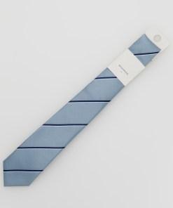 Reserved - Cravată cu motive - Albastru