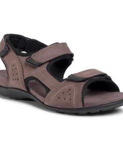 Sandale Lasocki for men MI07-A714-A619-07 Piele naturală - Nubuc