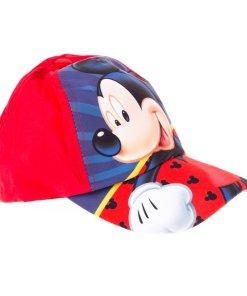 Sapca baieti Mickey rosie