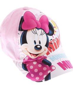 Sapca fete Minnie Mouse Lashes roz