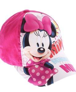 Sapca fete Minnie Mouse Lashes fucsia