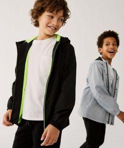 Mango Kids - Geaca copii CHICAGO UPY8-KUB00A_99X