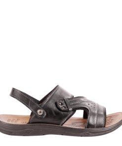 Sandale barbati Tonyno negre
