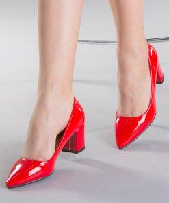Pantofi dama Afila rosii