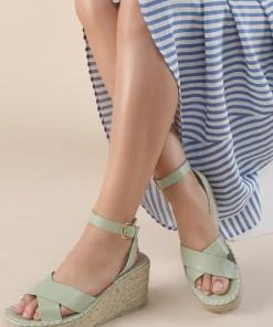 Sandale cu platforma Sheilla Verzi