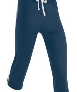 Pantaloni sport 3/4 capri, nivel 1 - albastru