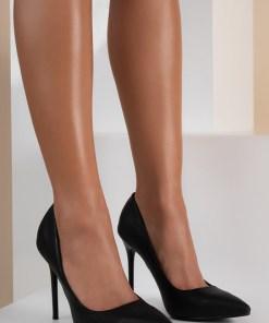 Pantofi stiletto Raira Negri