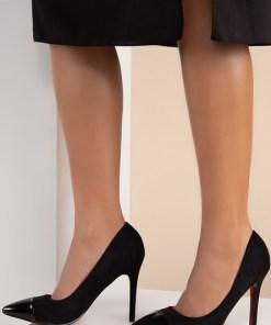 Pantofi stiletto Delusion V2 Negri