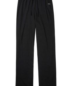 Pantaloni de pijama, bumbac bio - negru
