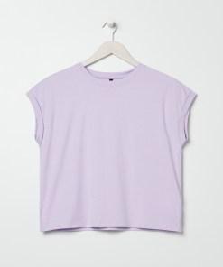 Sinsay - Tricou de damă - Violet