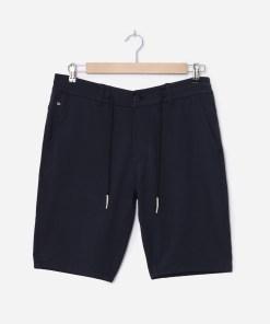 House - Pantaloni scurți din jerseu de bumbac - Bleumarin