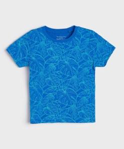 Sinsay - Tricou Eco Aware - Albastru
