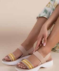 Sandale dama Priscilla Bej
