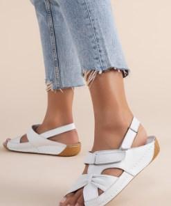 Sandale piele naturala Vienna Albi