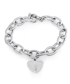 Bratara argintie, Freelook, pentru dama, din otel inoxidabil, FRJ.3.3010-1