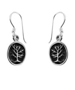 Cercei argint Mable cu pomul vietii