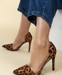 Pantofi stiletto Geraldine V1 Maro