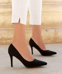 Pantofi stiletto Adelie Negri