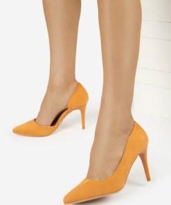 Pantofi stiletto Areosa Camel