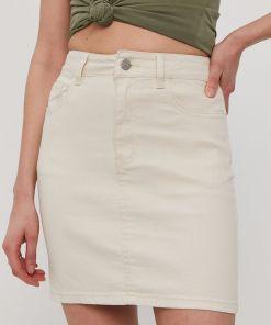 Vila - Fusta jeans PPY8-SDD00L_01X