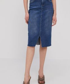 Mos Mosh - Fusta jeans PPY8-SDD083_55J