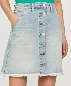 Tommy Jeans - Fusta jeans PPY8-SDD098_50J
