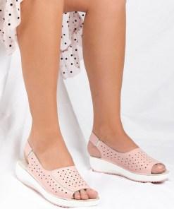 Sandale dama Larnaca Roz