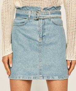 Answear - Fusta jeans BBYK-SDD033_55X
