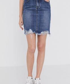Answear Lab - Fusta jeans BMY8-SDD002_59X