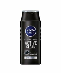 Sampon pentru par normal Nivea Men Active Clean, 250 ml