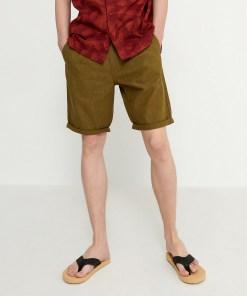 House - Pantaloni scurți cu in - Kaki
