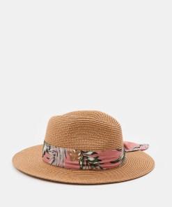 Sinsay - Pălărie cu panglică decorativă - Maro
