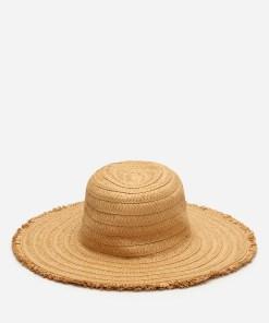 House - Pălărie de paie - Bej