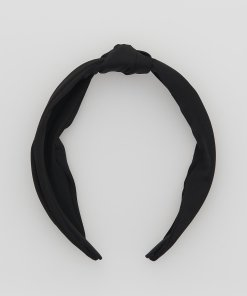 Reserved - Cordeluță cu nod decorativ - Negru