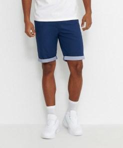 House - Pantaloni scurți basic - Bleumarin