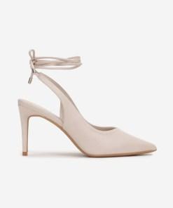 Pantofi cu toc Dorinia Bej