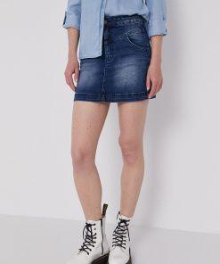 Lee Cooper - Fusta jeans MPY8-SDD00K_59X