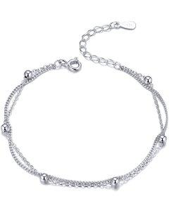 Bratara din argint Double Chains