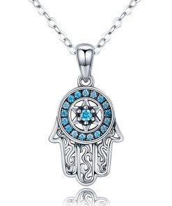 Colier din argint 925 Blue Fatima