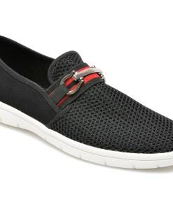 Pantofi ALDO negri, Kaeriven001, din material textil