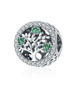 Talisman din argint Dazzling Tree