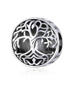Talisman din argint patinat My Tree of Life
