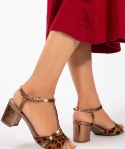 Sandale cu toc Marsa Maro